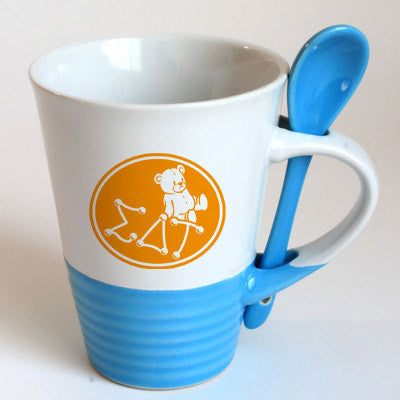 Sigma Delta Tau Sorority Coffee Mug with Spoon - 6150