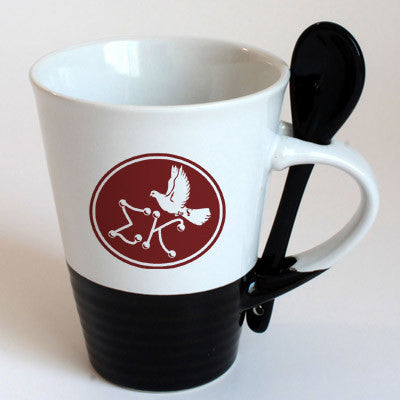 Sigma Kappa Sorority Coffee Mug with Spoon - 6150
