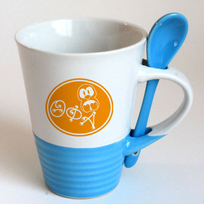 Theta Phi Alpha Sorority Coffee Mug with Spoon - 6150
