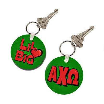 Sorority Big-Lil Keychain - UN4411 - SUB
