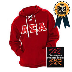 Sorority Hockey Hoody with Twill Letters - J. America J8830 - TWILL