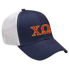 Sorority Knockout Cap with Two Color Embroidery - Adams KN102 - EMB