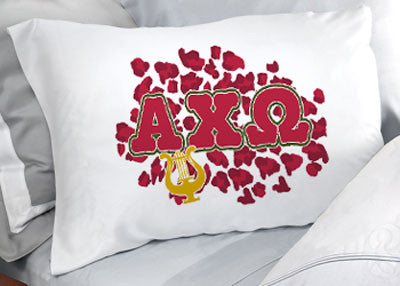Alpha Chi Omega Cheetah Print Pillowcase - SGPC