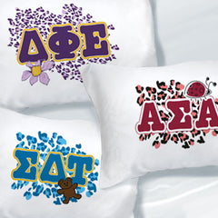 Exclusive Cheetah Print Sorority Pillowcase - SGPC