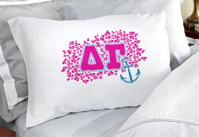 Delta Gamma Cheetah Print Pillowcase - SGPC