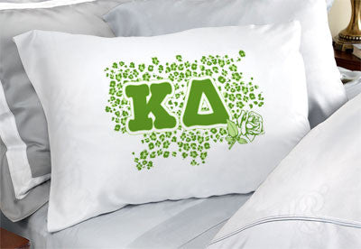 Kappa Delta Cheetah Print Pillowcase - SGPC