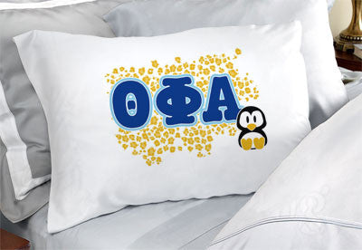 Theta Phi Alpha Cheetah Print Pillowcase - SGPC