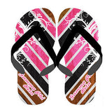 Sorority Chevron Stripe Flip-Flops - SBL100 - SUB
