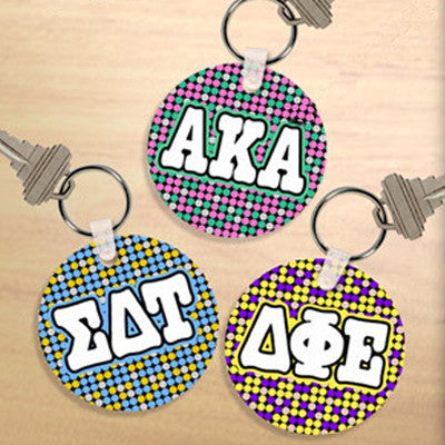 Sorority Dot Keychain - UN4411 - SUB