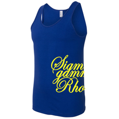 Sigma Gamma Rho Sorority Printed Tank Top - American Apparel 2408W - CAD