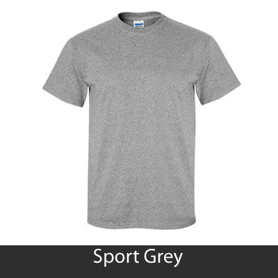 Greek Baseball Tail Printed T-Shirt - Gildan 5000 - CAD