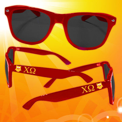 Chi Omega Sorority Sunglasses - GGCG