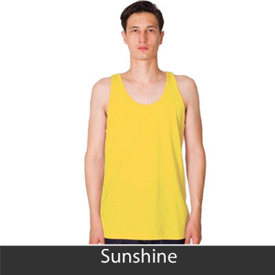 Phi Sigma Kappa Fraternity Printed Tank - American Apparel 2408 - CAD