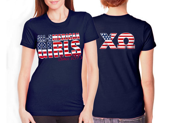 All american girls greek clothing and apparel something for American apparel sorority shirts