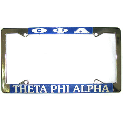 Theta Phi Alpha License Plate Frame - Rah Rah Co. rrc