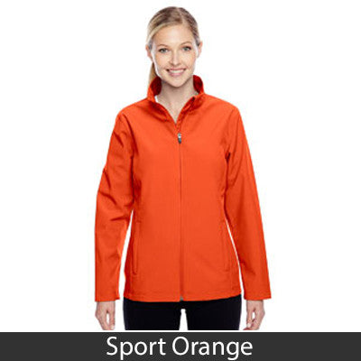 Sorority Embroidered Soft Shell Jacket - Team365 TT80W - EMB