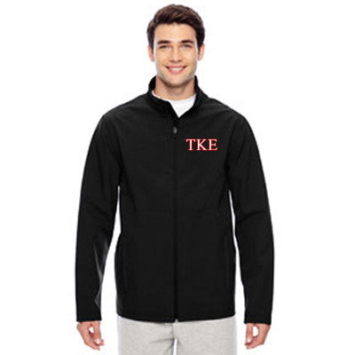 Fraternity Embroidered Soft Shell Jacket - Team365 TT80 - EMB