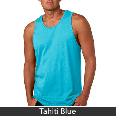 Zeta Tau Alpha Sorority Unisex Tank Top with Twill - Next Level 3633 - TWILL