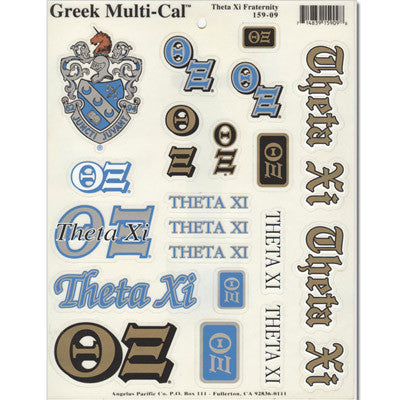Theta Xi Multi-Cal Sticker