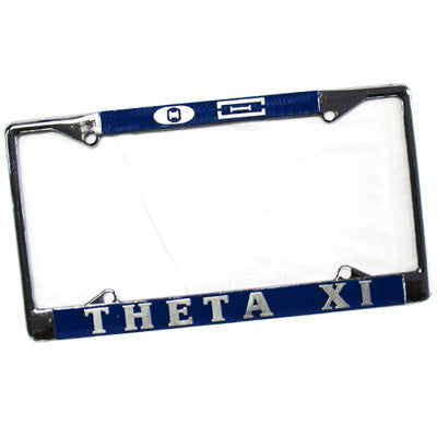 Theta Xi License Plate Frame - Rah Rah Co. rrc