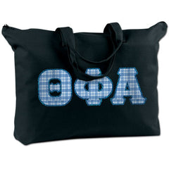 Theta Phi Alpha Shoulder Bag - Bag Edge BE009 - TWILL