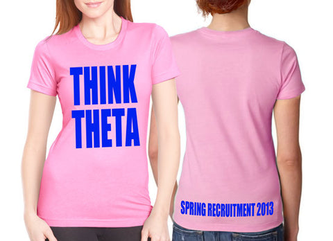 Think Theta - Recruitment Shirt
