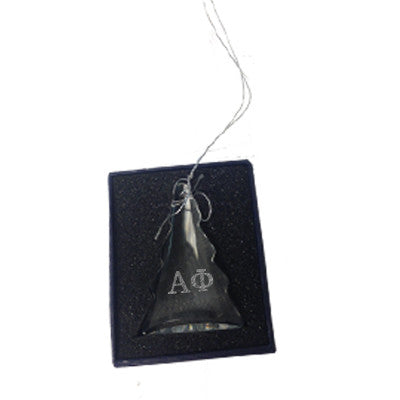Greek Engraved Tree Glass Ornament - CRY1403 - LZR
