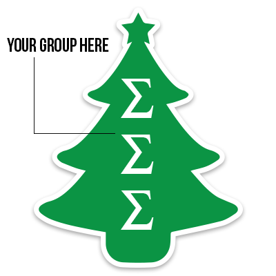 Holiday Tree Sticker - DIG