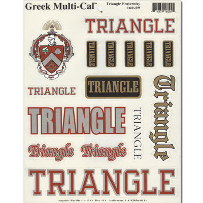 Triangle Multi-Cal Sticker