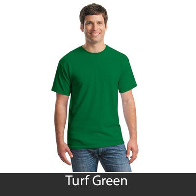 Zeta Beta Tau Vintage Football Printed T-Shirt - Gildan 5000 - CAD