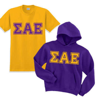 Fraternity Varsity Printed Hoody and T-Shirt Pack - CAD