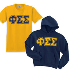 Sorority Varsity Printed Hoody and T-Shirt Pack - SALE CAD
