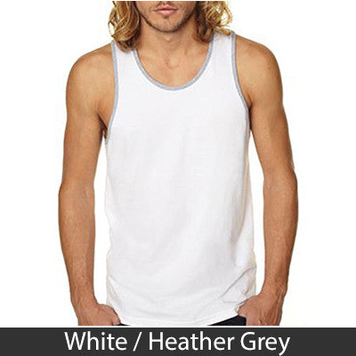 Alpha Epsilon Phi Sorority Unisex Tank Top with Twill - Next Level 3633 - Twill
