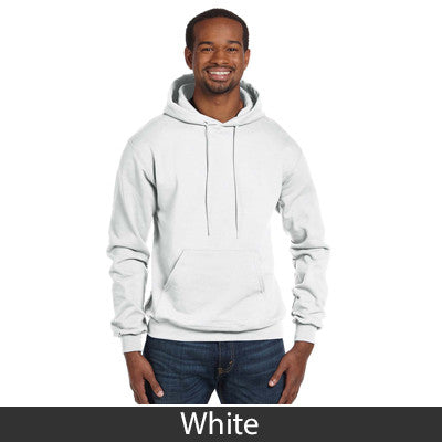 Delta Chi Champion Hooded Sweatshirt - Champion S700 - TWILL