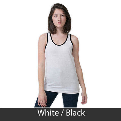 Delta Gamma Sorority Printed Tank Top - American Apparel 2408W - CAD
