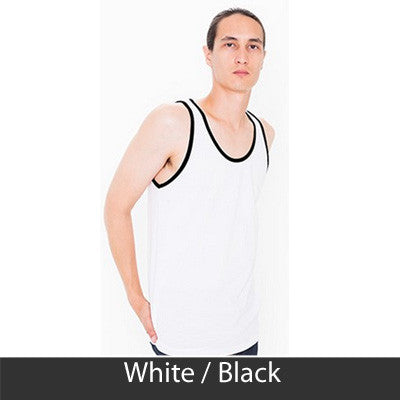 Sigma Nu Fraternity Printed Tank - American Apparel 2408 - CAD