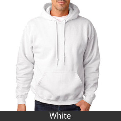 Sigma Chi Hooded Sweatshirt - Gildan 18500 - TWILL