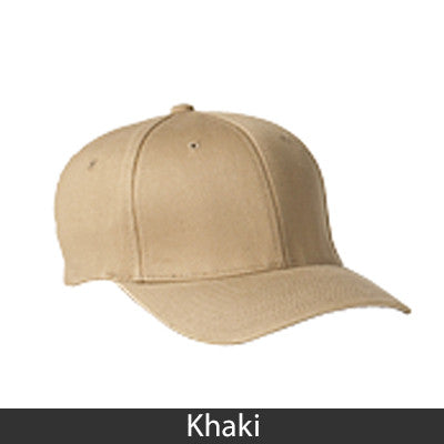 Sigma Kappa Flexfit Fitted Hat - Yupoong 6277 - EMB