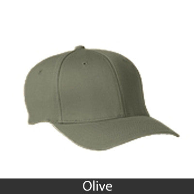 Phi Mu Flexfit Fitted Hat - Yupoong 6277 - EMB