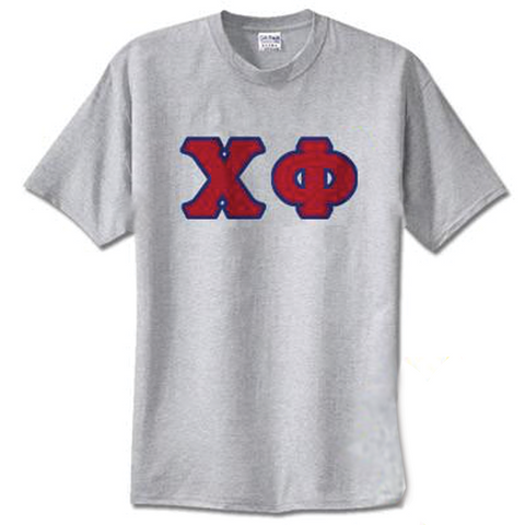 Chi Phi Standards T-Shirt - $14.99 GIldan 5000 - TWILL