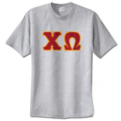 Chi Omega Standards T-Shirt - $14.99 Gildan 5000 - TWILL
