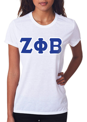 Zeta Phi Beta Ladies T-Shirt - Gildan 2000L - TWILL