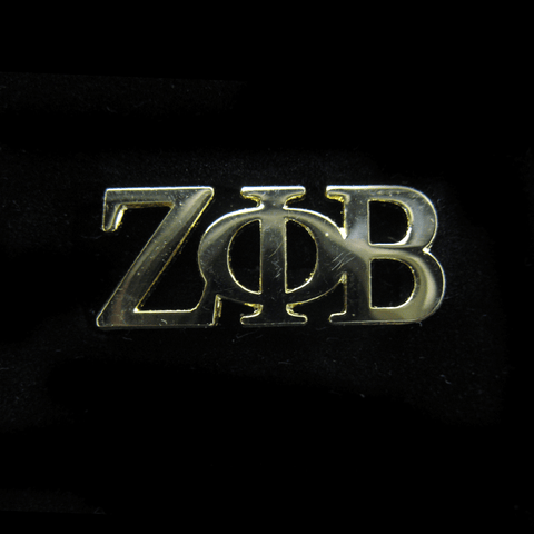Zeta Phi Beta Greek Letter Symbol Lapel Pin