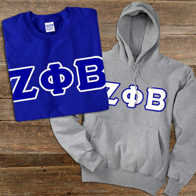 Zeta Phi Beta Hoody/T-Shirt Pack - TWILL