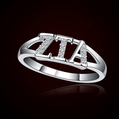 Zeta Tau Alpha Sorority Ring - GSTC-R001