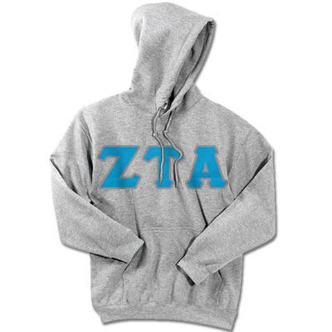 Zeta Tau Alpha Standards Hooded Sweatshirt - $25.99 Gildan 18500 - TWILL