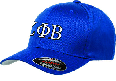Zeta Phi Beta Fitted Hat With Embroidery Sorority Clothing
