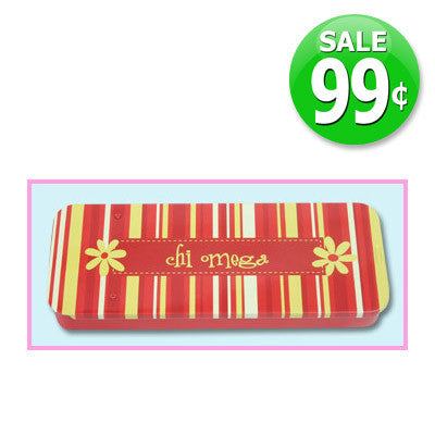 Chi Omega Personal Tin On Sale $0.99 - Alexandra Co. a1006
