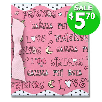 Gamma Phi Beta Discount Photo Album - Alexandra Co. a1013