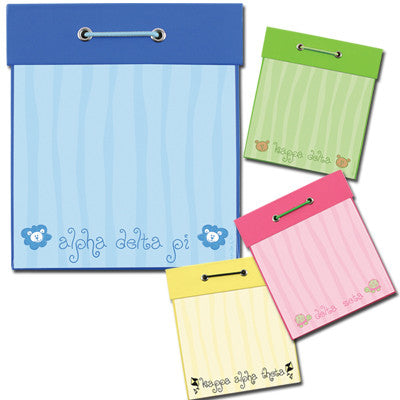 Sorority Square Notepad - Alexandra Co. a1038